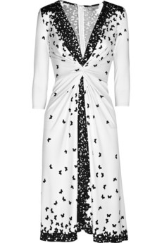 Issa | Butterfly-print jersey dress | NET-A-PORTER.COM from net-a-porter.com