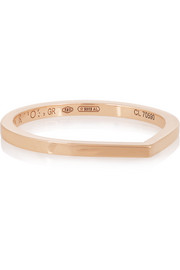 Antifer 18-karat rose gold ring
