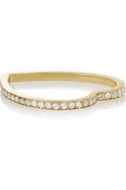 Repossi Coeur d'Antifer 18-karat gold diamond ring