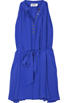 Alice by Temperley Sleeveless silk trapeze dress