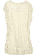 D&GCotton-blend lace dress