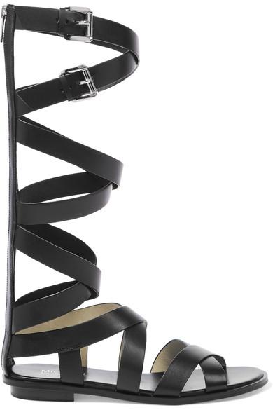 d9ecfece23c MICHAEL Michael Kors. Darby leather sandals