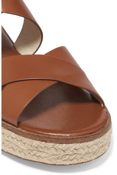 cddb599732d Darby leather espadrille platform sandals