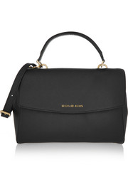 MICHAEL Michael Kors Ava medium textured-leather shoulder bag