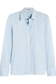 Jil Sander Cotton-blend poplin shirt