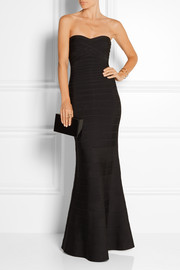 Sara strapless bandage gown