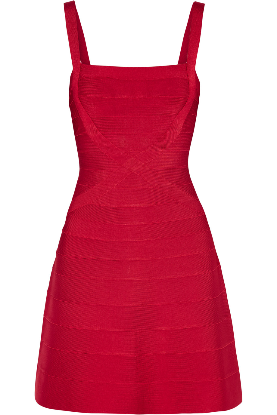 Hervé Léger Bandage Mini Dress, Red, Women's, Size: S