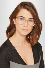 Victoria Beckham Kitten cat-eye acetate optical glasses