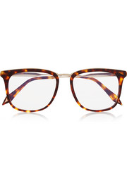 D-frame acetate optical glasses