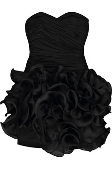 Notte by Marchesa | Ruffle silk-blend mini dress  | NET-A-PORTER.COM from net-a-porter.com
