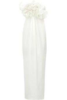 Notte by Marchesa|Ruffled silk-chiffon gown|NET-A-PORTER.COM from net-a-porter.com