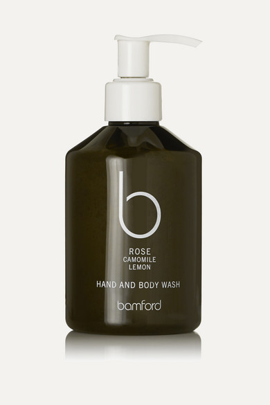 BAMFORD ROSE HAND & BODY WASH, 250ML - COLORLESS