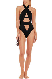 Agent Provocateur Anja cutout swimsuit