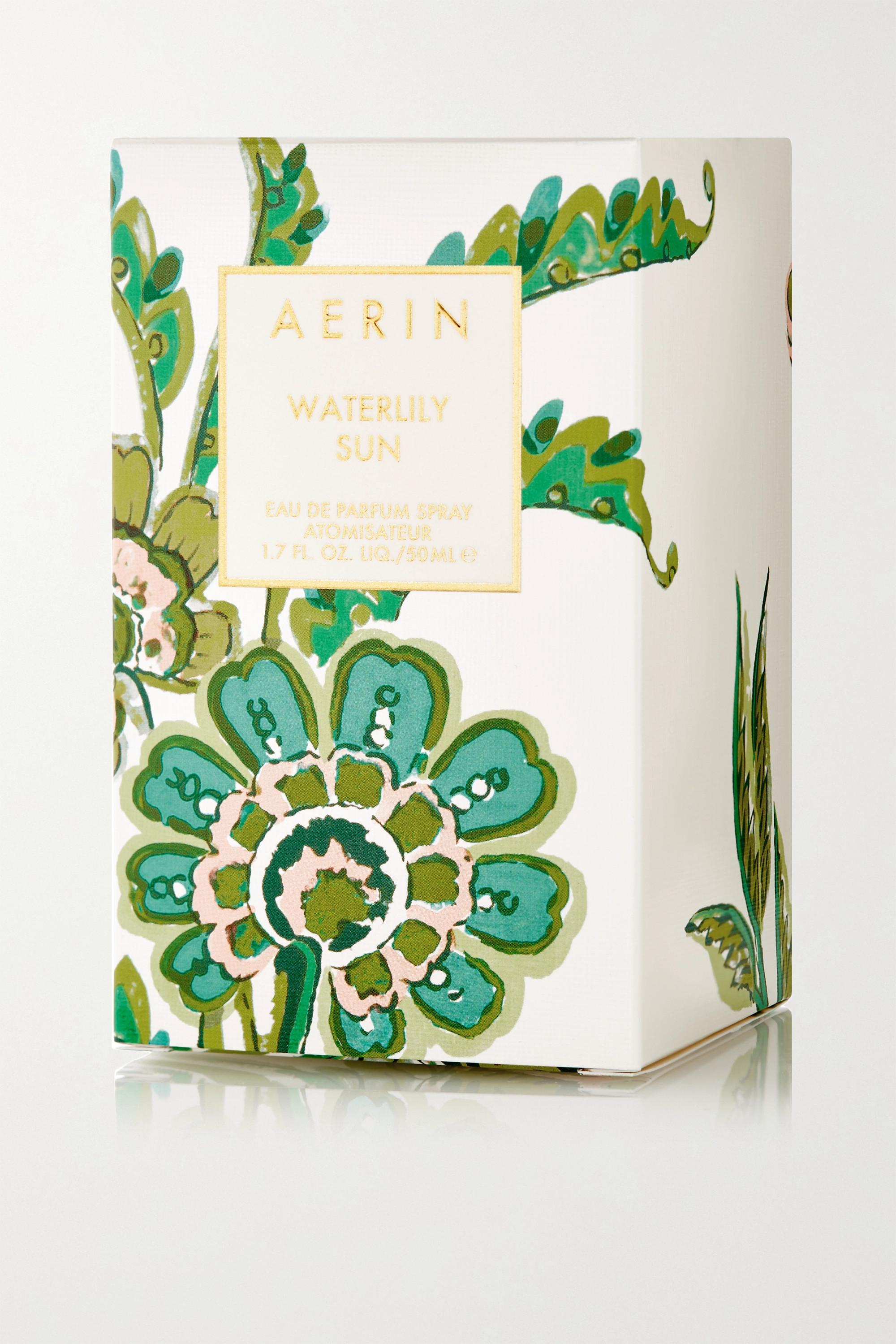 AERIN Beauty Waterlily Sun Eau De Parfum - Waterlily & Sicilian Bergamot, 50ml