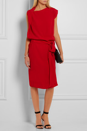 Vivienne Westwood Anglomania Rixon draped crepe dress