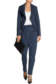 Petite Noble stretch-cotton blazer