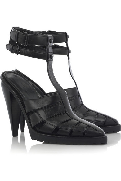 f9d3c6e21f89 Alexander Wang. Abbey ankle-strap leather sandals
