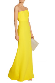 Roland Mouret Mercer wool-crepe gown