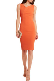 Grainger stretch-crepe dress