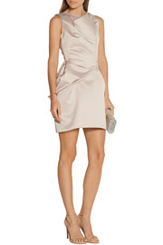 Roland Mouret Zonda satin mini dress