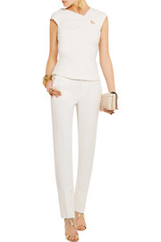 Florence cutout crepe top