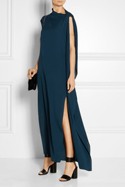 Niccala silk-georgette gown