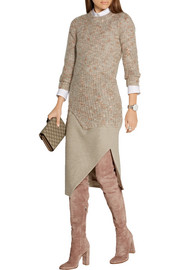 By Malene Birger Giolina ribbed bouclé sweater