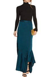 By Malene Birger Zalah stretch-satin jersey maxi skirt