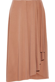 Inny wrap-effect modal-blend skirt