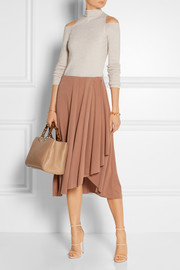 By Malene Birger Inny wrap-effect modal-blend skirt