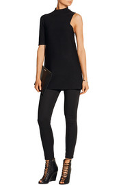 By Malene Birger Compala one-shoulder stretch-ponte tunic