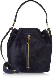 Cynnie calf hair bucket bag