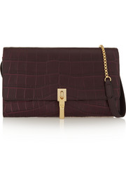 Elizabeth and James Cynnie croc-effect leather shoulder bag