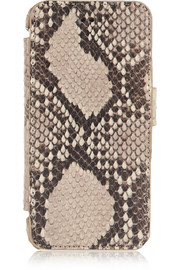 Python-effect leather iPhone 6 case