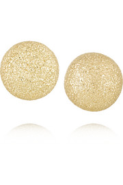 Lei Zu 18-karat gold earrings