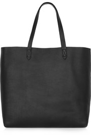 Transport leather tote