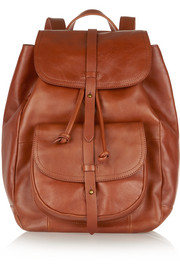New Transport leather backpack