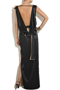 Roksanda Ilincic Summer Sabine silk-satin gown