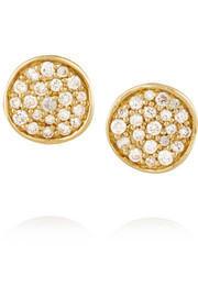 Glamazon Stardust Mini 18-karat gold diamond earrings