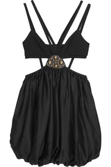 Sass & Bide | Your Voice silk-satin dress from net-a-porter.com