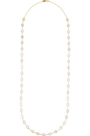Rock Candy Confetti 18-karat gold mother-of-pearl necklace