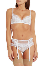 Idalia lace and tulle briefs