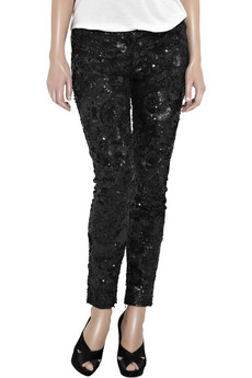 Stella%20McCartney Indian%20net%20%20sequined%20pants%20