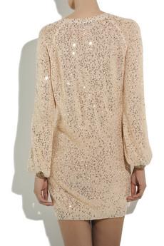 Stella McCartneySequined cotton-blend sweater dress