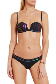 La Perla Mirage laser-cut bikini briefs