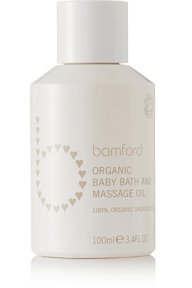 BAMFORD Baby Bath & Massage Oil, 100Ml - Colorless