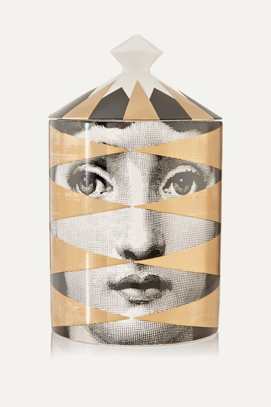 FORNASETTI Losanghe Thyme, Lavender And Cedarwood Scented Candle, 300G in Multi