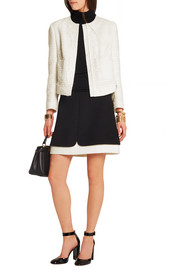 Giambattista Valli Guipure lace-trimmed tweed jacket