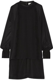 3.1 Phillip Lim Layered silk-chiffon and crepe de chine mini dress