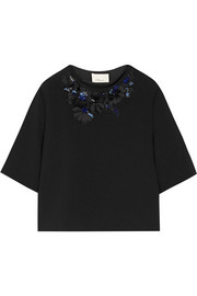 3.1 Phillip Lim Embellished crepe top